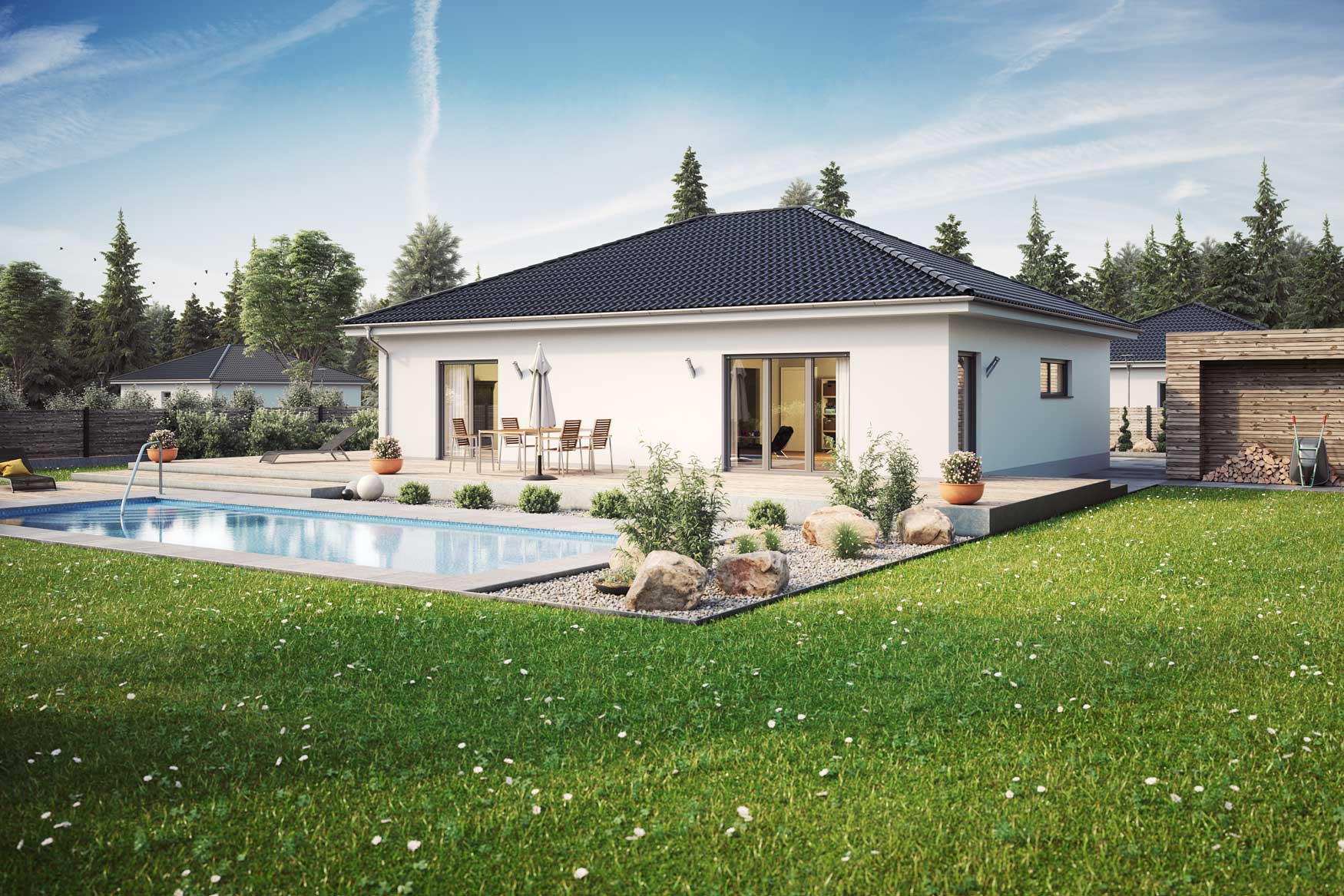 Massivhaus Nizza Wohnwelten Massivhaus GmbH